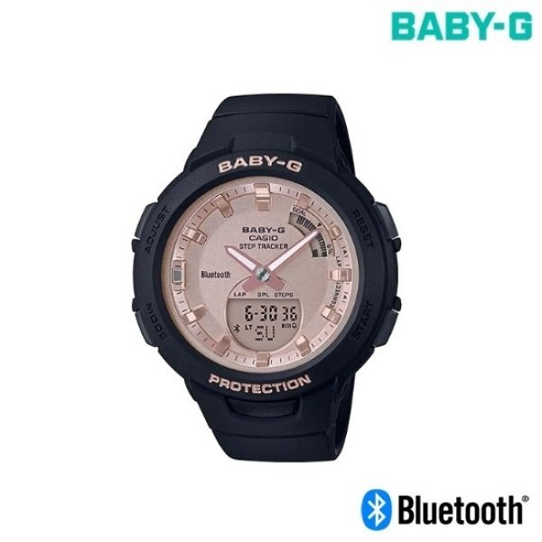 BSA-B100MF-1ADR 지스쿼드 블루투스 러닝시계 방수시계 상품이미지