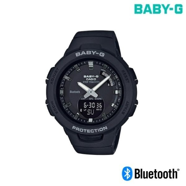 BSA-B100-1ADR 지스쿼드 블루투스 연동러닝시계 전자시계 방수시계 상품이미지