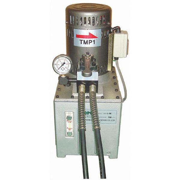 대진유압 유압전동펌프 TMP-1M(매뉴얼타입-복동) 상품이미지