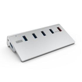 퀵충전 1포트+USB3.0 4포트/5포트 유전원 USB3.0허브