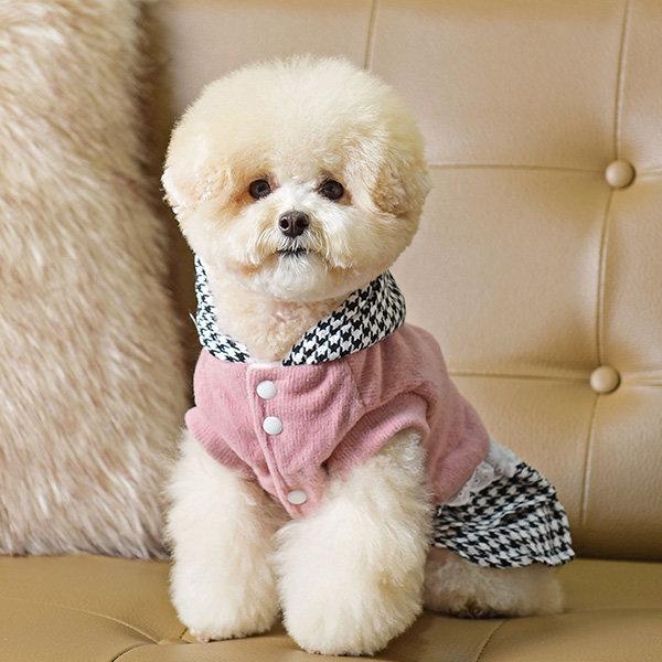 스위트체크 원피스 강아지옷/애완견옷/애완의류/애견옷 상품이미지