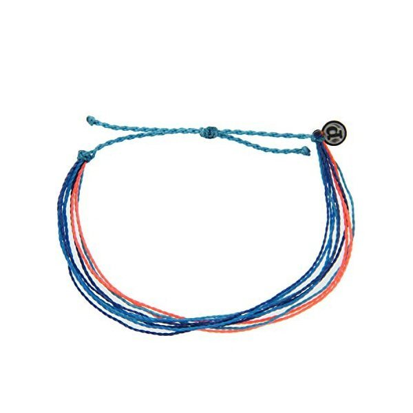 해외쇼핑/Pura Vida Originals Anklet - Plated Charm  Adjustable Band - 100% Waterproof 상품이미지