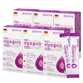 히알루 먹는 저분자 콜라겐 펩타이드 6박스 (84포)