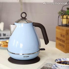 보니또1.7L 전기 포트 커피 무선주전자 NK-341 블루