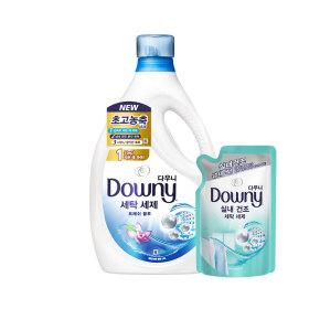 다우니 프리미엄 세탁세제 액체형 블루 2.8L