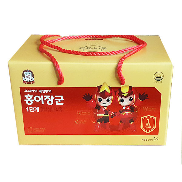 정관장 홍이장군 1단계 90포구성 어린이홍삼 상품이미지
