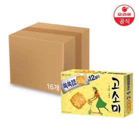 오리온 고소미 12P 소포장 216g x16개(1박스)