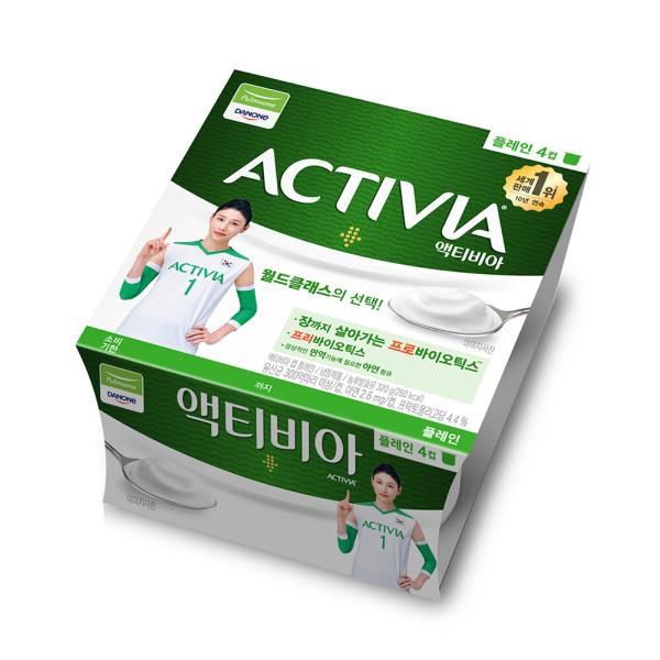 다논 액티비아 플레인컵 80G 4입 상품이미지