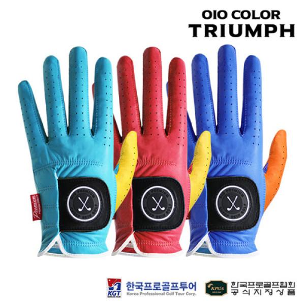 (AK몰)(오아이오)(KPGA공식) 오아이오 트라이엄프 천연양피 골프장갑 남성용 왼손 상품이미지