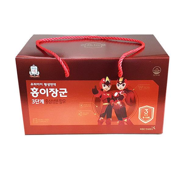 정관장 홍이장군 3단계 90포 어린이홍삼 상품이미지