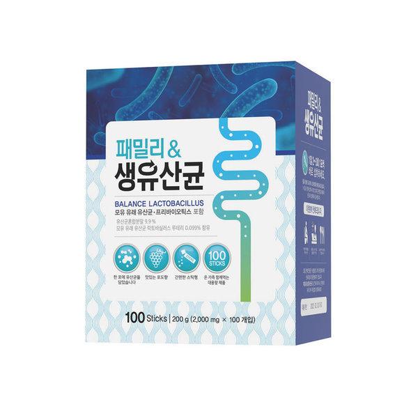 패밀리 생유산균 스틱형  100T 200G 상품이미지