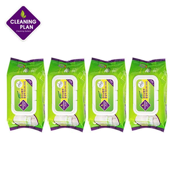 클리닝플랜 표준형 물걸레 청소포 4팩 (120매) 상품이미지