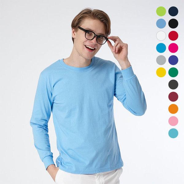 티뱅크 남성 30수 라운드 긴팔 티셔츠 17종 모음 상품이미지