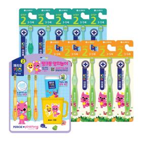 칫솔치약세트 2단계 핑크퐁(3-5세) 양치세트 X2개