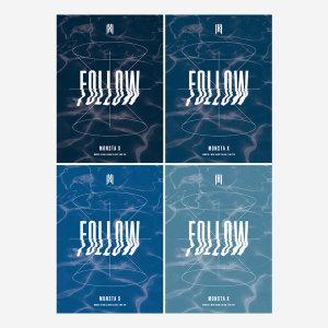 MONSTA X(몬스타엑스) Mini Album FOLLOW'-FIND YOU 4종세트 (예약특전 증정 ) - 10/28일 발매
