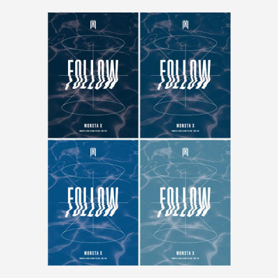 MONSTA X Mini Album FOLLOW -FIND YOU 4pcs SET (pre-order special offer)-release on Oct.28