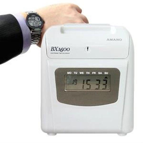 디지털 자동시간 아마노 BX1600 출퇴근기록기 상품이미지