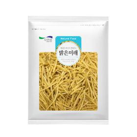 밝은미래 국내가공 이중채(쥐어채) 1kg 무료배송