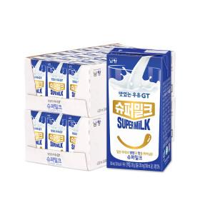 맛있는우유GT 슈퍼밀크 180ml 48팩 프리미엄우유