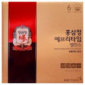 [정관장]홍삼정 에브리타임 밸런스 10mlx30포 한박스