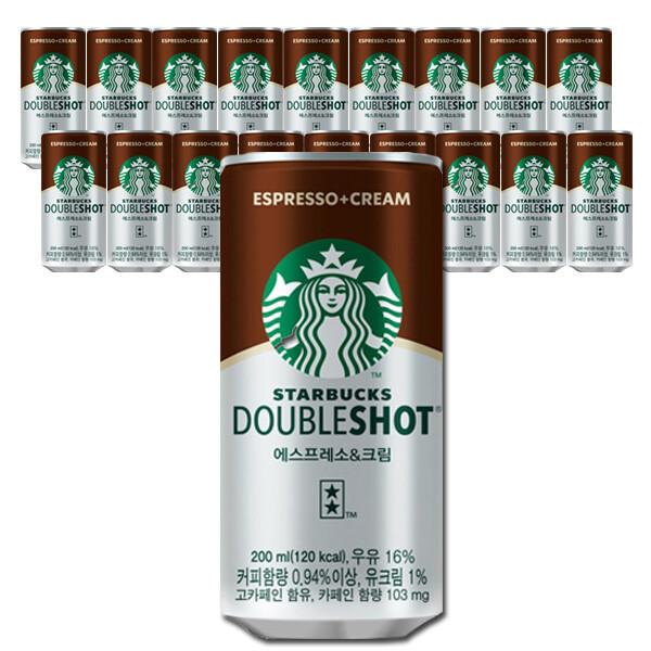 스타벅스 더블샷 200mlx24캔/에스프레소/캔커피/음료 상품이미지