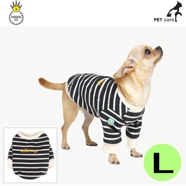 하모니 티셔츠 그레이 L 강아지 애견용품 애완용품 상품이미지