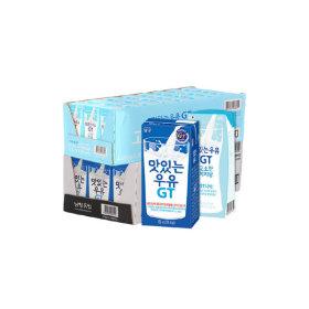 맛있는우유GT 멸균우유 24팩+고소한저지방 우유 24팩