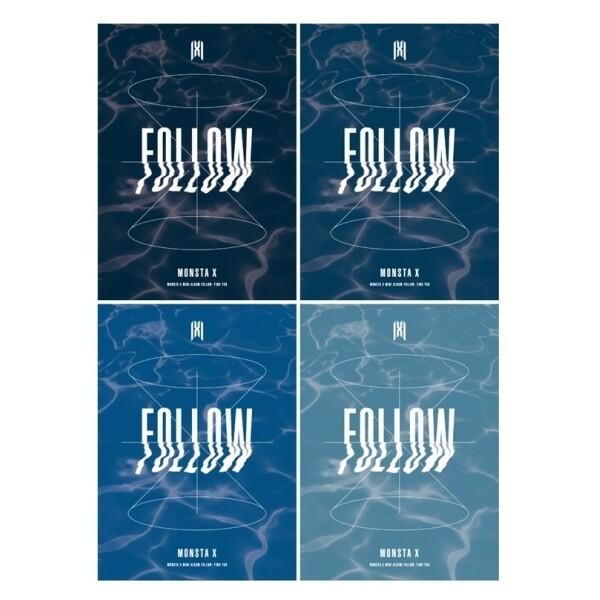 몬스타엑스 (Monsta X) - FOLLOW-FIND YOU (미니앨범) ID카드+등신대+포토카드+미니포스터 상품이미지