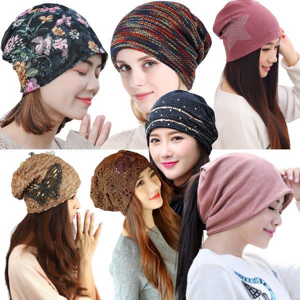 여성 가을 겨울 비니 모자 패션 항암 봄 여자 남성 상품이미지