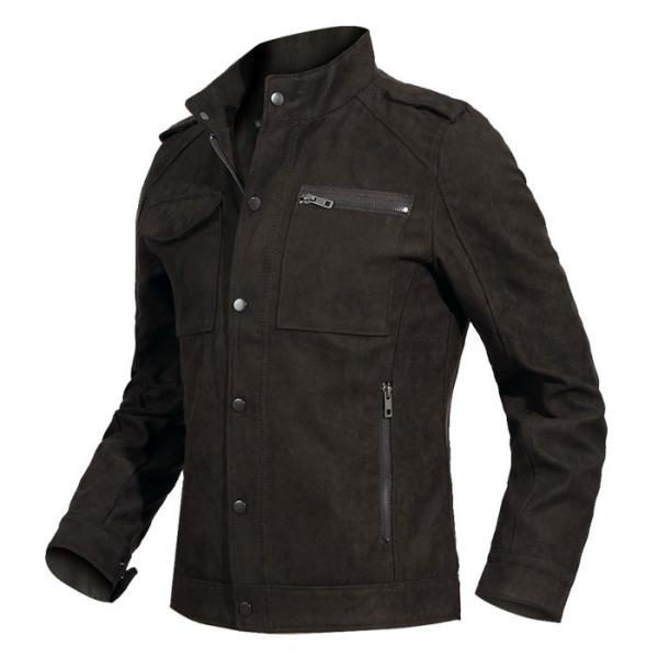 디바옴므 매니쉬 스웨이드 자켓 (M8633) 상품이미지