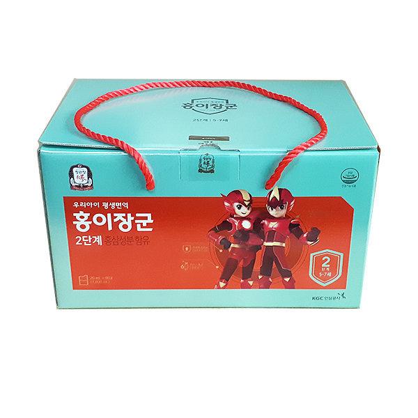 정관장 홍이장군 2단계 90포구성 어린이홍삼. 상품이미지