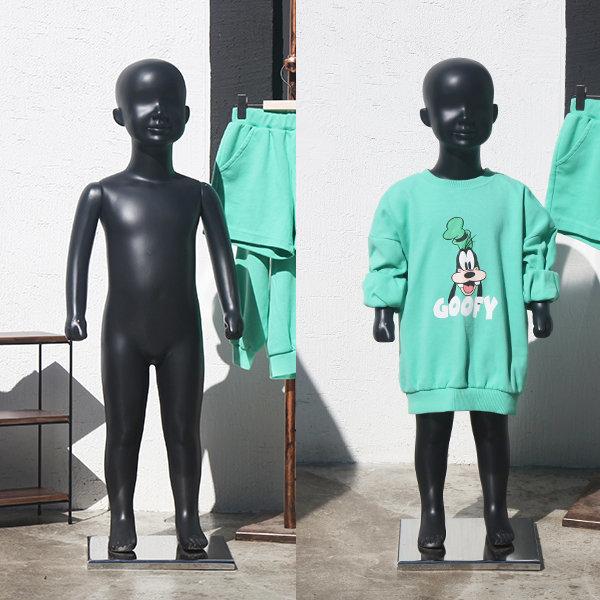 새싹이 아동 4세 5세 전신 frp 마네킹 옷가게 디피 상품이미지