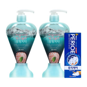 치약 핑크솔트 펌핑치약 285g(아이스 x 2개)