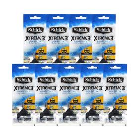 휴대용 면도기 익스트림3 센서티브1개입 x 8팩