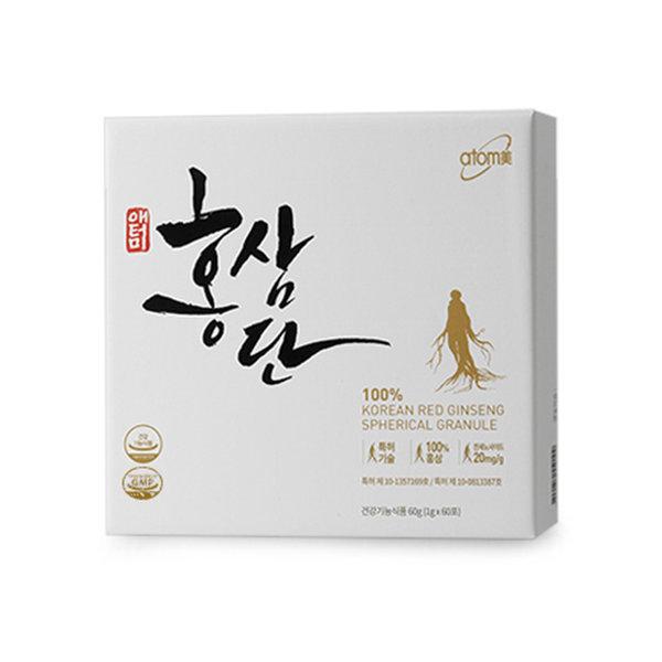 애터미 홍삼단 1g x 60포 면역력 피로개선 항산화 상품이미지