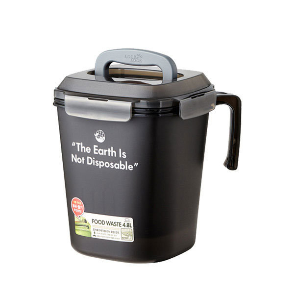 음식물 쓰레기통 4.8L 그레이 1개 상품이미지