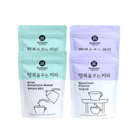 행복을주는커피 블루마운틴 블랜드/헤이즐넛향 2+2