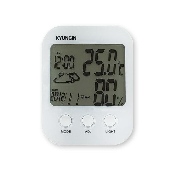 경인 디지털 온습도계 TH-905 날짜 시계 알람 표시 상품이미지