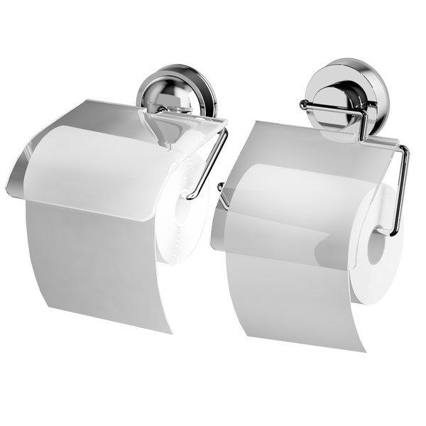 휴지걸이 스텐 욕실 화장실 선반 방수 무타공 흡착식 상품이미지