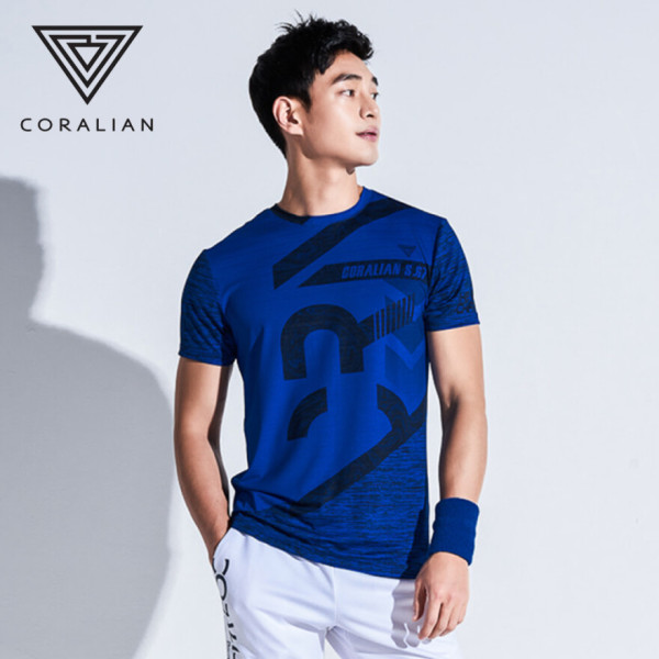 2019년 CRT B1058 남성 반팔 그래픽 티셔츠 남자 반팔티 CRT-B1058/ 코랄리안 상품이미지