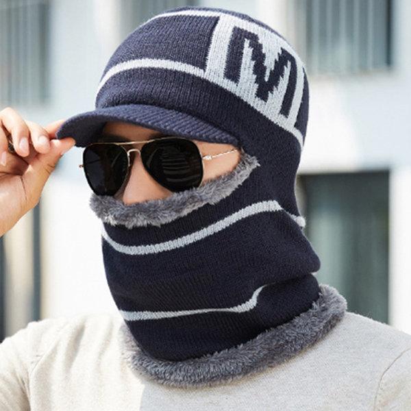 남성 겨울 모자 방한 털 넥워머 목도리 후드 머플러 상품이미지