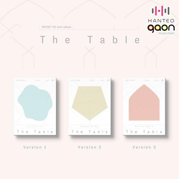 (버전선택) 뉴이스트 (NU EST) - 미니7집 The Table (포토카드(50종 중 2종 랜덤)+가사 포스터) 상품이미지