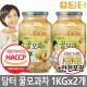 꿀모과차  1kg+1kg 총2kg 전용포장
