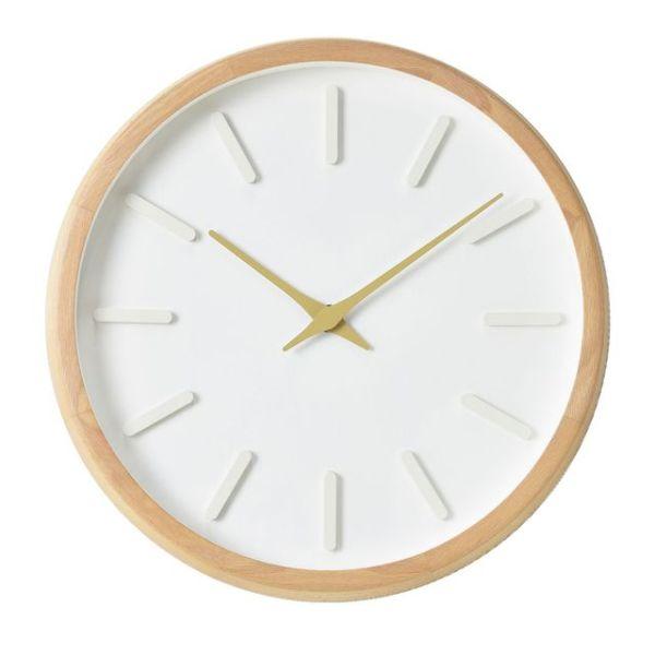 내추럴 라운드인덱스벽시계(베이지) 상품이미지