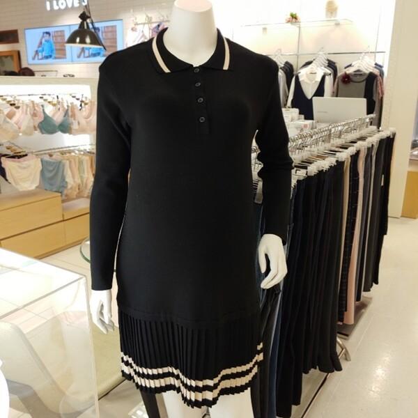 (현대백화점)마더피아 와코루 임부복/임산부산전산후겸니트원피스(ROP2003) 상품이미지