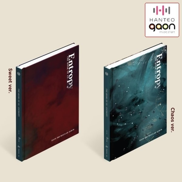 데이식스 (DAY6) - The Book Of Us : Entropy (정규 3집) 포토북+포토카드2종+포스트카드+북마크+초도한정필름포토카드 상품이미지