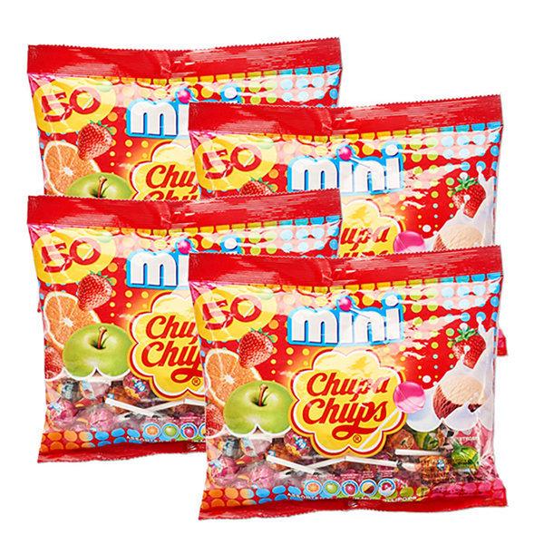 츄파춥스 미니 50입 4개 캔디 사탕 상품이미지