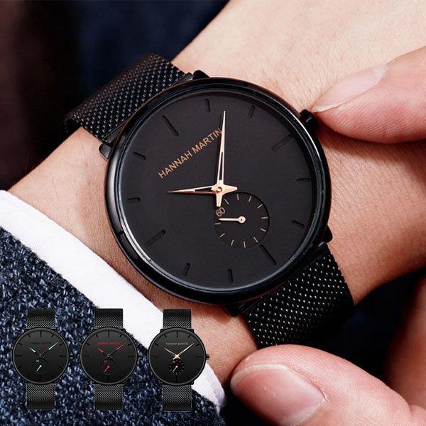 남성 패션 손목 시계 전자 남자 여성 메탈 커플 상품이미지