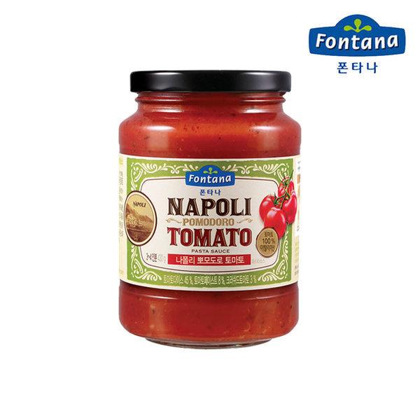 나폴리 뽀모도로 토마토 파스타소스 430g 상품이미지