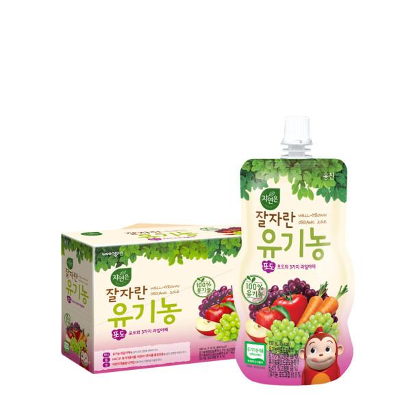 코코몽 잘자란유기농 포도 100mlx10팩 상품이미지